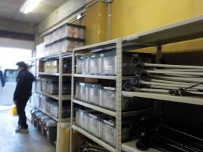 倉庫Aの棚